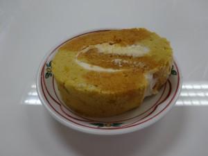 かぼちゃのロールケーキ