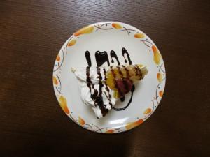 2月15日 職員の手作りケーキ